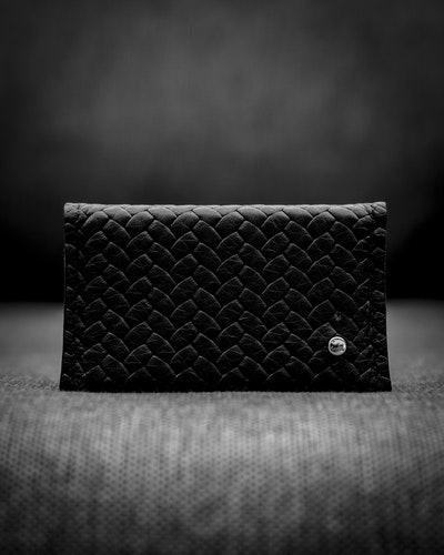 Double Card Holder Herringbone - Dubbel korthållare