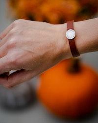 Thin Leather Bracelet - Armband i läder