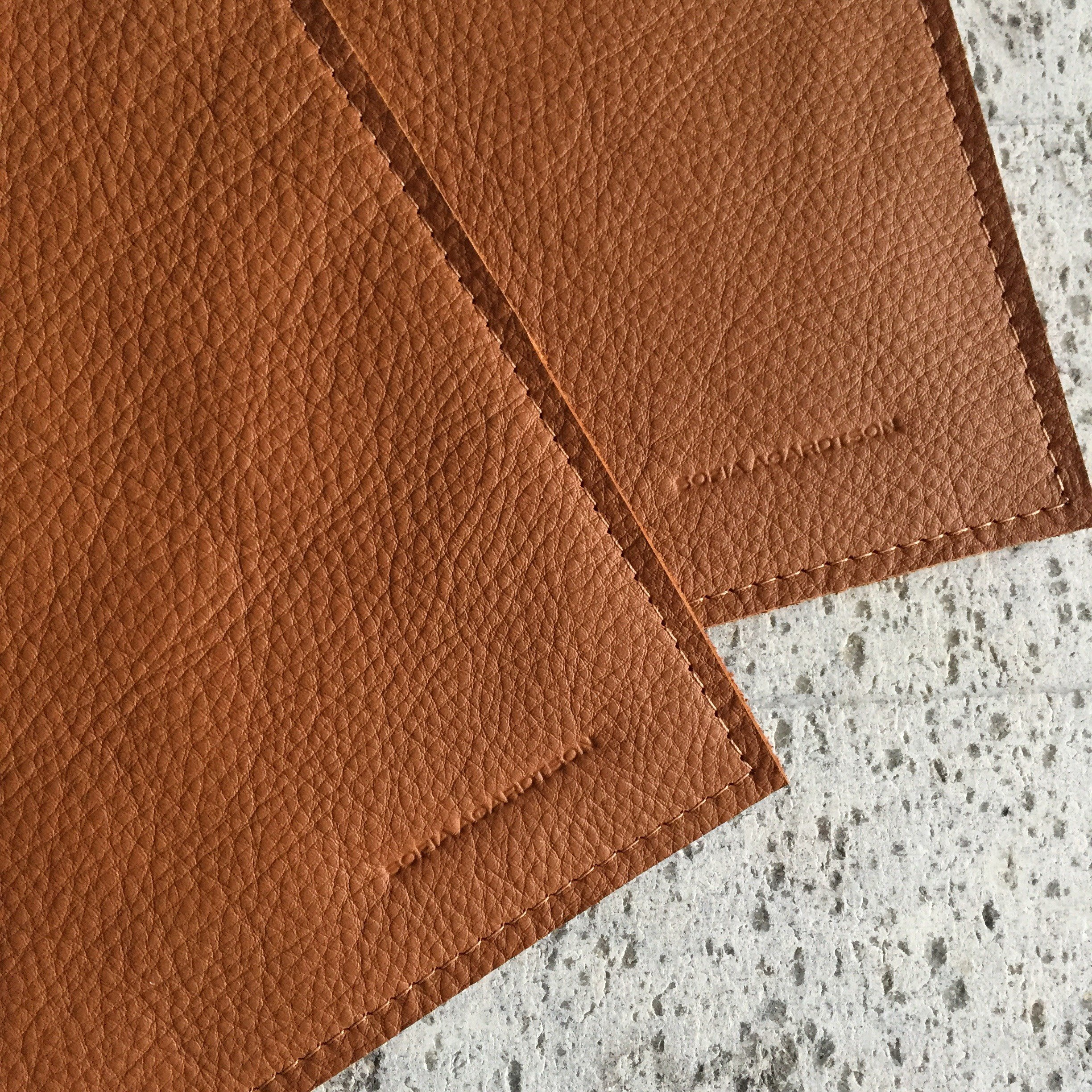 Hot Pads - Cognac Leather (set of 2)