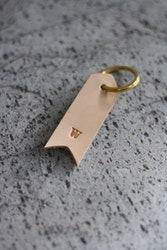 Keyring - Arrow w/ initial
