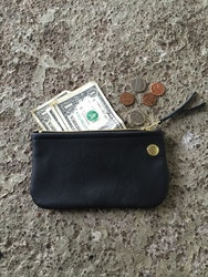 VIP iPhone Wallet - Black Leather