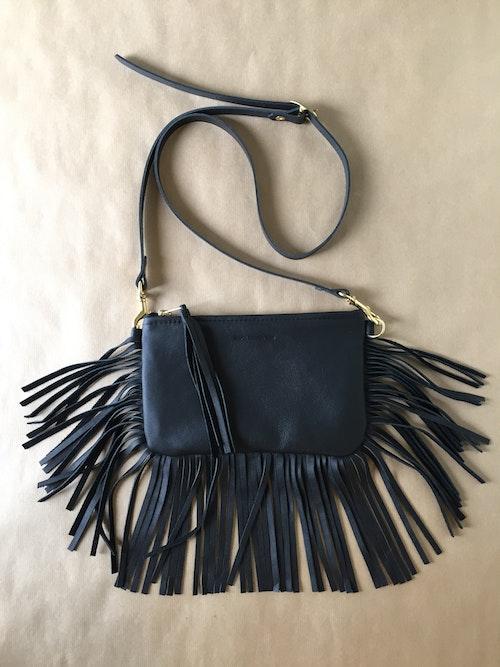 BOHO Shoulder Bag - Black