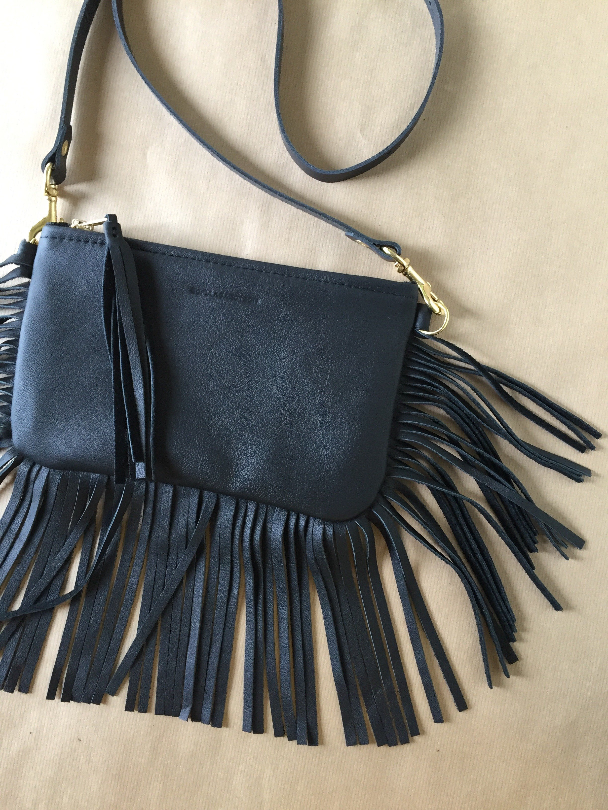 BOHO Shoulder Bag - Black