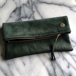 VIP Fold Over Bag - Moss Green