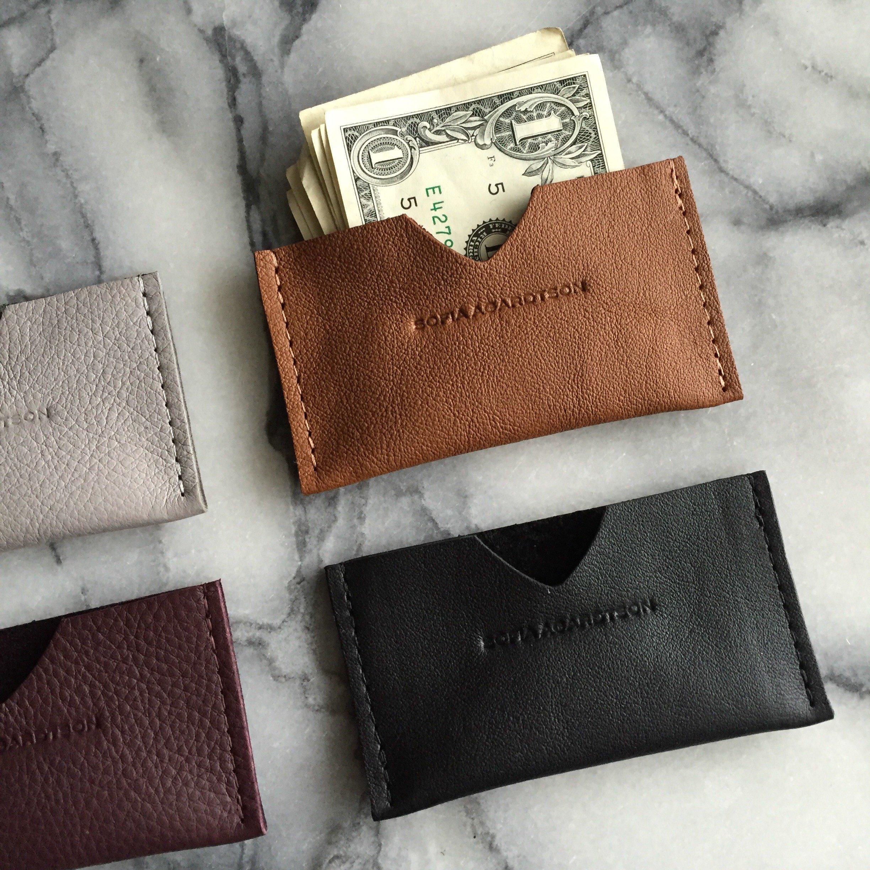 Card Holder - Korthållare i läder