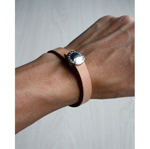 Thin Leather Bracelet - Armband i läder