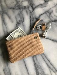 VIP iPhone Wallet - Nude Basket Weave