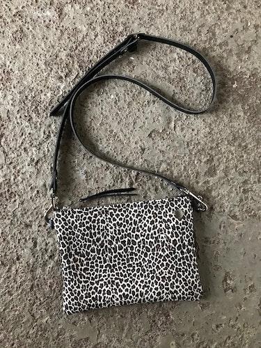 VIP Shoulder Bag - Limited Edition Leopard & Silver