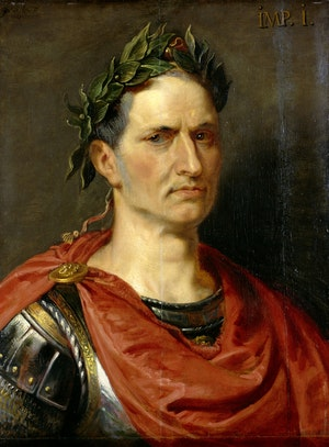 GAIUS JULIUS CAESAR av Peter Paul Rubens