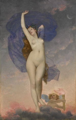 AURORA MORGONRODNADENS GUDINNA av Adolphe Alexandre Lesrel