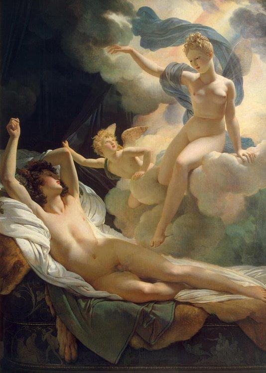 IRIS OCH MORFEUS av PIERRE-NARCISSE GUÉRIN