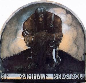 ETT GAMMALT BERGTROLL