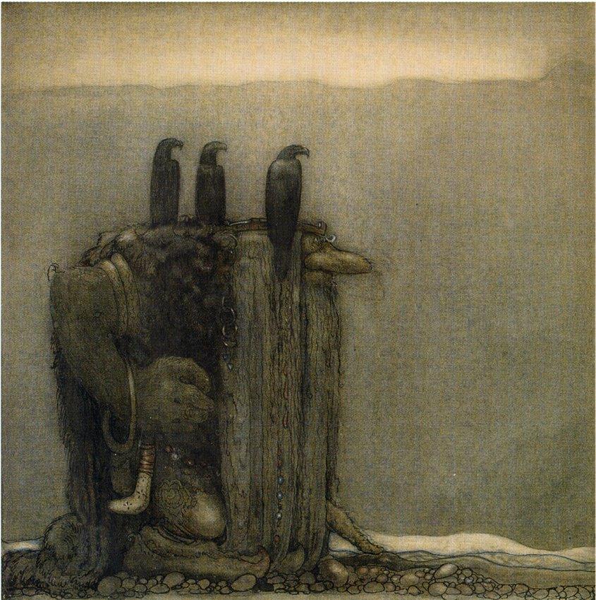 BERGTROLL MED ÖRNAR 1918