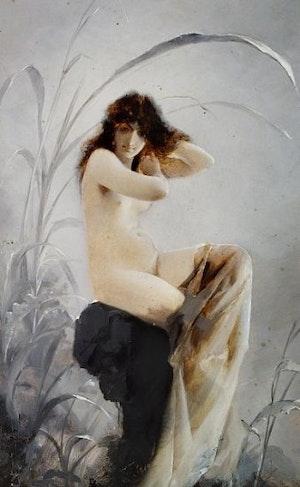 EN BADANDE NYMF av LUIS RICARDO FALERO
