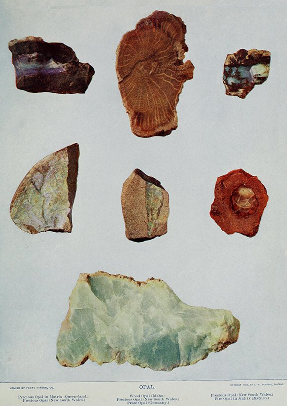 OPAL Ädelstenar Mineraler