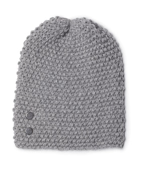 Beanie 'Kally' LIGHT GREY