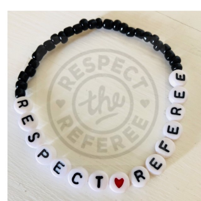 Armband RESPECT♥REFEREE