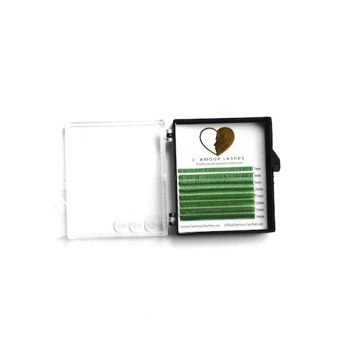Gröna volymfransar 0.07mm