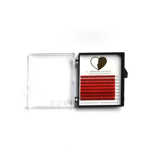 Röda volymfransar 0.07mm