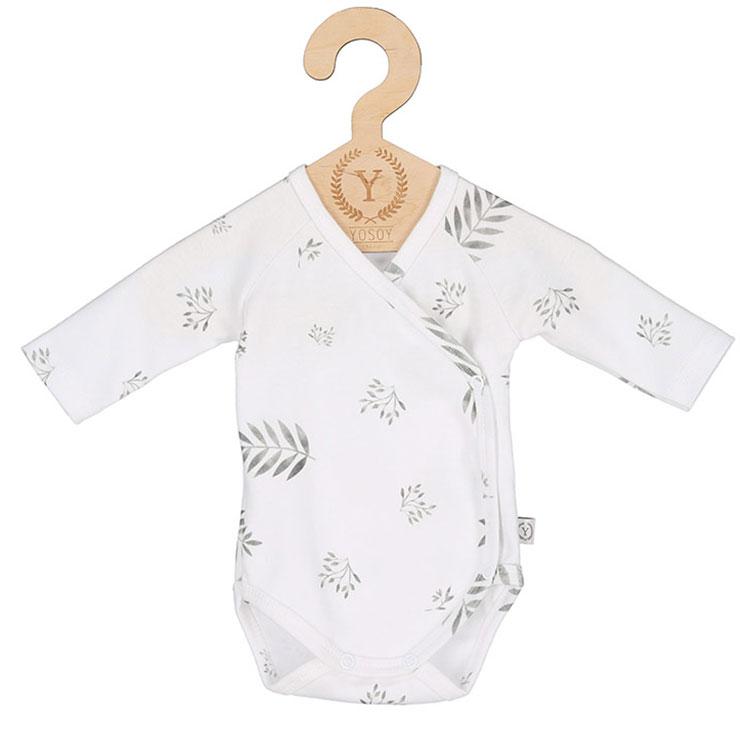 Nyfödd klädpaket Lyx, Grey Leafs