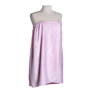 Bambu handduk kjol, ljus rosa