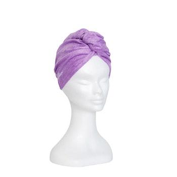 Bambu turban handduk, Lavendel