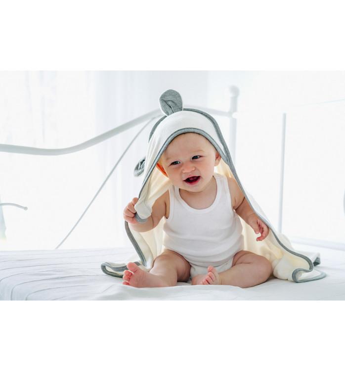 Pulp Bambu Baby Badcape med öron - Elliotti