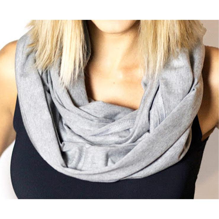 Pulp Amning sjal, grå - Elliotti