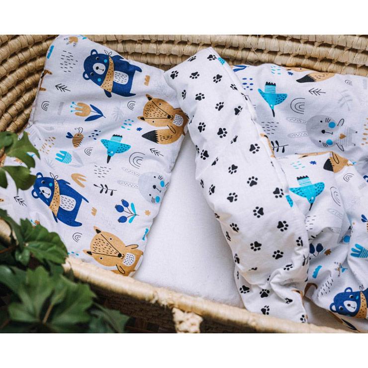 Pulp Baby täcke och kudde, Animals - Elliotti