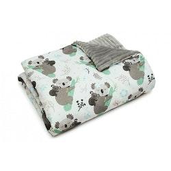 Pulp Minky fleece filt, Koala bear