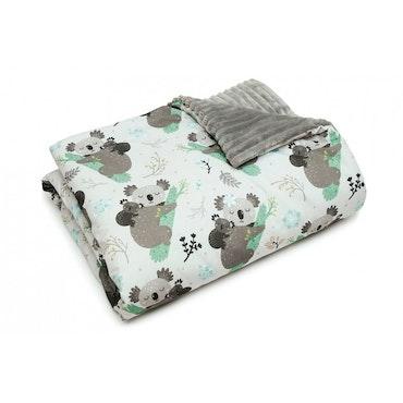 Pulp Minky fleece täcke, Koala bear