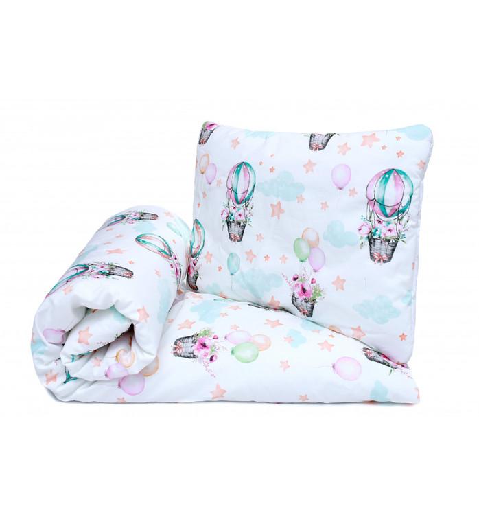 Pulp Baby täcke och kudde i bomull, Balloons - Elliotti