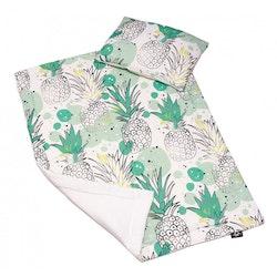Pulp Bambu Baby täcke & kudde, Pineapple