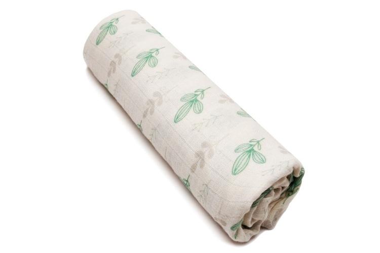 Pulp Bambu Muslin filt, Mint leaves