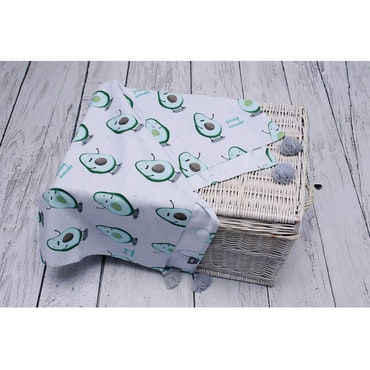 Pulp Eco Bomull Swaddle filt, Avocado
