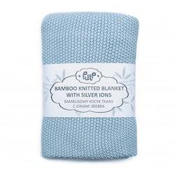 Pulp Bambu Baby filt med silver ions, Blue