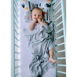 Pulp Bambu Baby filt, Grey Elefanter