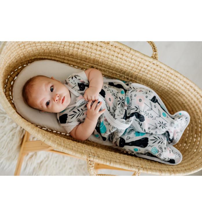 Pulp Bambu Muslin Baby Sovpåse, Cats - Elliotti.se