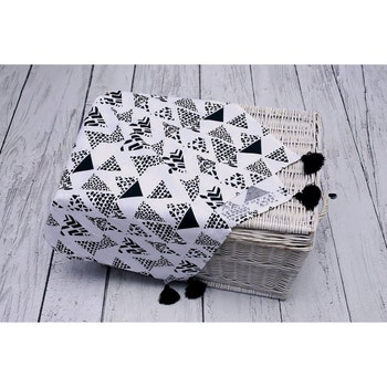 Pulp Eco Bomull Swaddle filt, Aztec