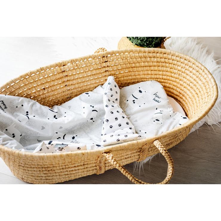 Pulp Bomull bebistäcke och kudde, Dogs - Elliotti.se