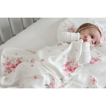 YOSOY Bambu Swaddle, Japanese Flowers
