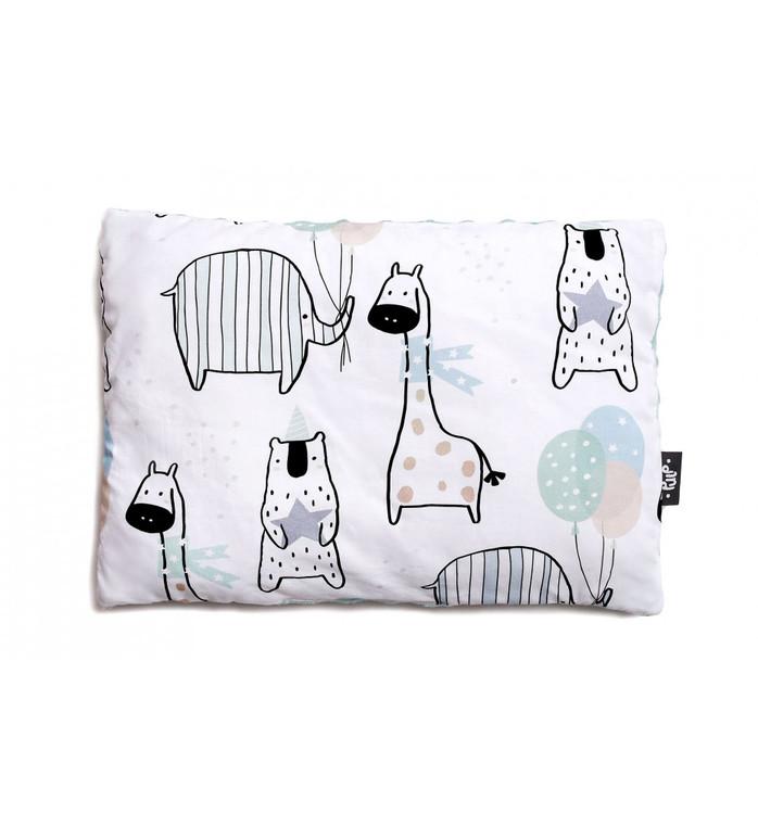 Pulp Minky fleece filt, Giraffes - Elliotti.se