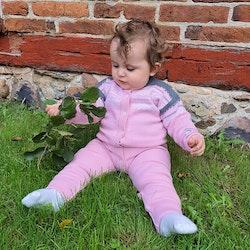 Marius Kids Overall i merinoull, Lotus Pink