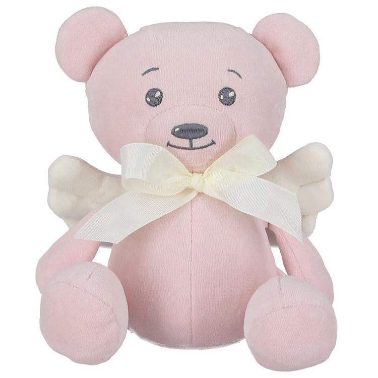 Angel Teddy Bear, Pink - Elliotti.se