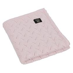 Yosoy Spring stickat filt, Powder Pink
