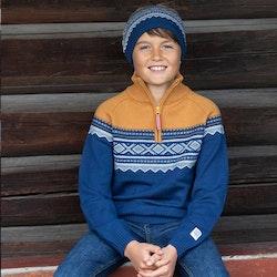 Marius® Kids mössa i merinoull, Stellar