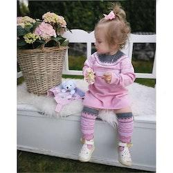 Marius® Kids strumpor i merinoull, Lotus Rosa