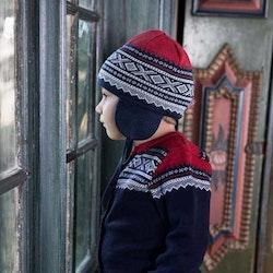 Present Marius Kids mössa & strumpor, Navy