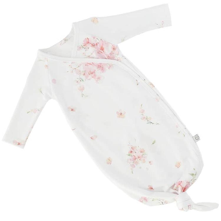 Yosoy ekologisk bomullsbody med knut, Japanese Flowers - Elliotti.se