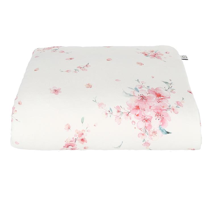 YOSOY Bambutäcke till nyfödd 65x75cm, Japanese Flowers - Elliotti.se